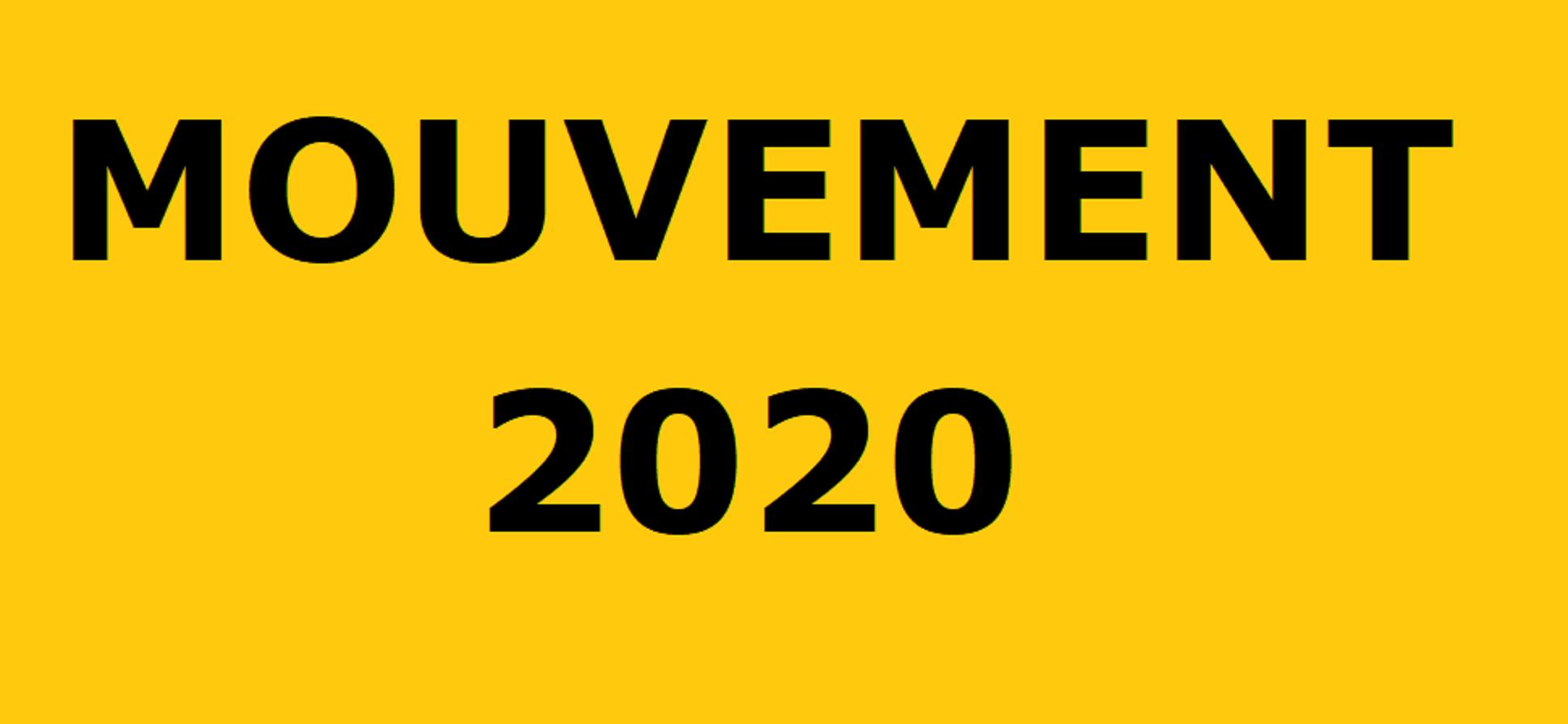 Mouvement 2020